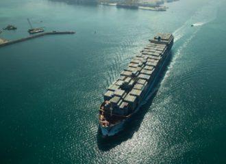 Cargo ship Dubai